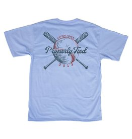 Properly Tied Youth PT Play Ball SS Light Blue