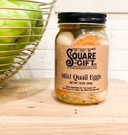 Gourmet Gardens Mild pickled quail eggs