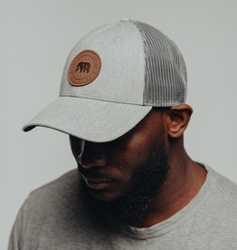 The Normal Brand Leather Patch Trucker