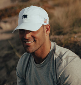 The Normal Brand Patriotic Performance Cap- WHITE