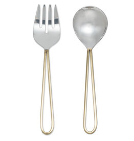 Abbott Loop Handle Salad Servers