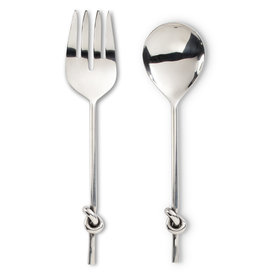 Abbott Knot Handle Salad Servers