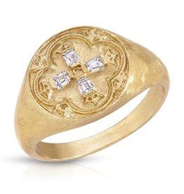 Joy Dravecky Dominique Signet Ring