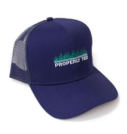 Properly Tied Trucker Hat - Lakeside - Navy
