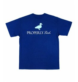 Properly Tied PT Classic Logo SS - Navy