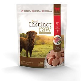 Nature's Variety Nature's Variety Instinct Raw Beef Medallions Frozen Dog Food 3-lb Bag