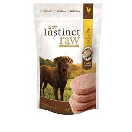 Nature's Variety Nature's Variety Instinct Raw Chicken Patties Frozen Dog Food 6-lb Bag