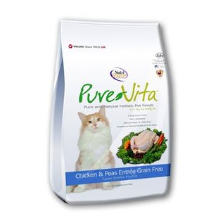 Nutrisource NutriSource Pure Vita Chicken & Peas Entree Limited Ingredient Dry Cat Food