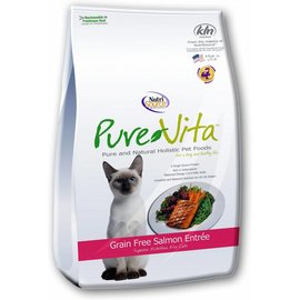 Nutrisource NutriSource Pure Vita Salmon & Peas Entree Limited Ingredient Dry Cat Food