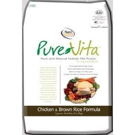 Nutrisource Nutrisource Pure Vita Chicken & Brown Rice Dry Dog Food 15-Lb Bag