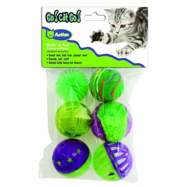 Our Pets Rollin' In The Fun Cat Toys 6-Pack