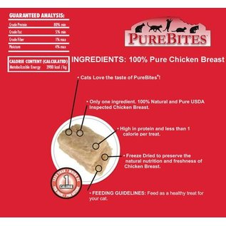 Pure Bites PureBites Chicken Freeze Dried Cat Treat 0.60-oz Bag