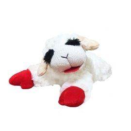 "Multi Pet International Multipet Lamb Chop Stuffed Dog Toy 6"""