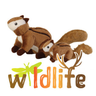 Quaker Pet Group Wildlife Chipmunk Dog Toy, Large