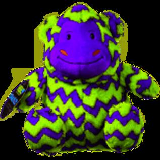 Hero Chuckles Monkey Dog Toy, Large