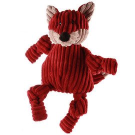 Huggle Hounds HuggleHounds Fox Squooshie Dog Toy Large