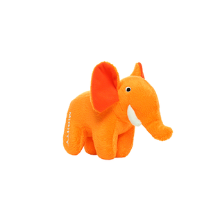 VIP Products VIP Mighty Safari Orange Elephant Dog Toy