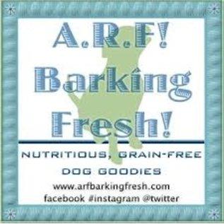 "Arf! Barking Fresh 6"" Purple Bone PB Bday Cake"