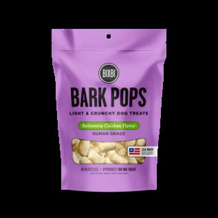 Bixbi Bark Pops Rotisserie Chicken Dog Treats, 4-oz Bag