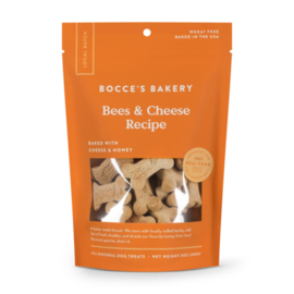 Bocce's Bakery Bocce's Bees Cheese Biscuit Dog Treats, 8-oz Bag