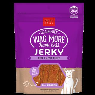 Cloud Star Cloud Star Wagmore Duck & Apple Jerky Dog Treats, 10-oz Bag