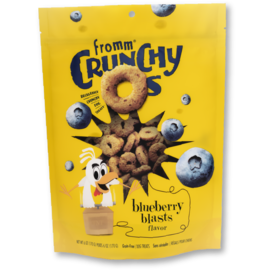 Fromm Pet Foods Fromm Blueberry Blast Crunchy O's 6oz Dog Treats