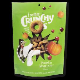 Fromm Pet Foods Fromm Pumpkin Kran Pow Crunchy O's 6oz Dog Treats