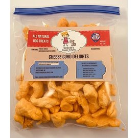 Gracie's Doggie Delights Cheese Curds  8oz