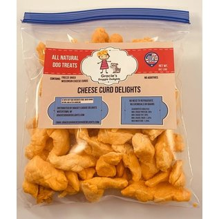 Gracie's Doggie Delights Gracie's Doggie Delights Cheese Curds  8oz