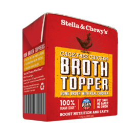 Stella & Chewy's Chicken Broth Topper,  3oz box