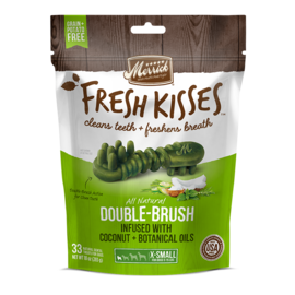 Merrick Fresh Kisses Coconut Oil Dental Grain-Free Dog Treat