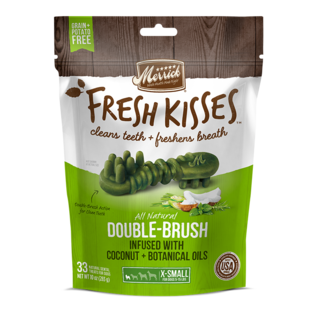 Merrick Pet Foods Merrick Fresh Kisses Coconut Oil Dental Grain-Free Dog Treat