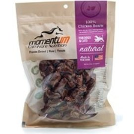 Momentum Carnivore Nutrition Chicken Hearts Freeze Dried Dog Treat 4oz