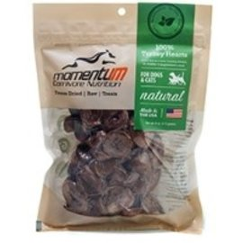 Momentum Carnivore Nutrition Turkey Hearts Freeze Dried Treat, 4-oz Bag