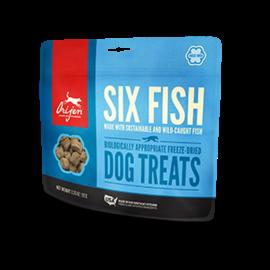 Orijen Orijen Six Fish Freeze-Dried Dog Treats 3.25-oz