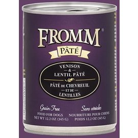 Fromm Pet Foods Fromm Gold Venison & Lentil Pate Canned Dog Food 12.2-oz Can