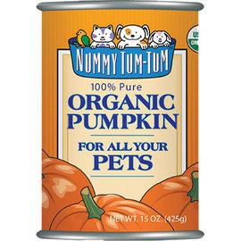 Nummy Tum Tum Organic Canned Pumpkin, 15-oz Can