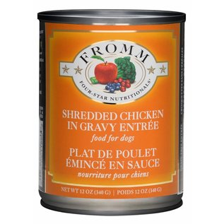 Fromm Pet Foods Fromm Four Star Shredded Chicken Grain Free Can Dog Food 13-oz