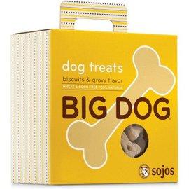Sojos Sojos Big Dog Biscuits & Gravy Dog Treats, 12-oz Box