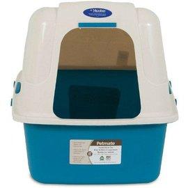 "Petmate Petmate Hooded Litter Box Set with Microban 19""x15""x7"