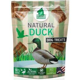 Plato Pet Treats Plato Natural Duck Dog Treats, 16-oz Bag