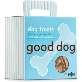 Sojos Sojos Good Dog Blueberry Cobbler Treats, 8-oz Box