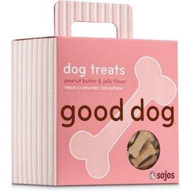 Sojos Sojos Good Dog Peanut Butter & Jelly Treats, 8-oz Box