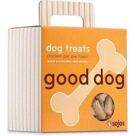Sojos Sojos Good Dog Chicken Pot Pie Treats, 8-oz Box