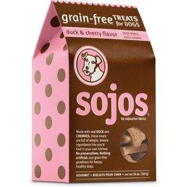 Sojos Sojos Natural Dog Duck & Cherry Grain-Free Dog Treats, 10-oz Box