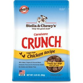 Stella & Chewy's Stella & Chewy's Carnivore Crunch Chicken Dog Treat  3.25-oz