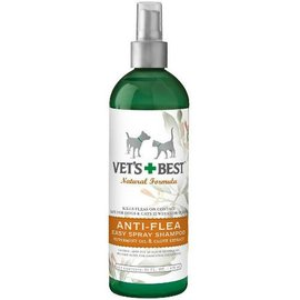 Vet's Best Vet's Best Anti-Flea Spray Shampoo 16-oz