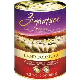 Zignature Zignature Lamb Limited Ingredient Canned Dog Food, 13-oz Can