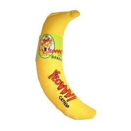 Yeowww! Banana Catnip Cat Toy
