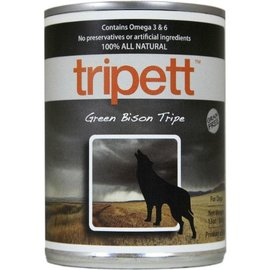 PetKind Tripett Green Bison Tripe Canned Dog Food, 13-oz Can